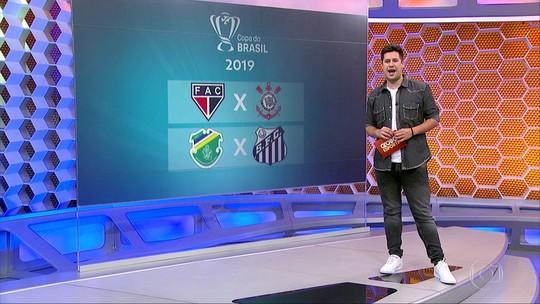 Conheça os adversário de Corinthians e Santos na Copa do Brasil de 2019