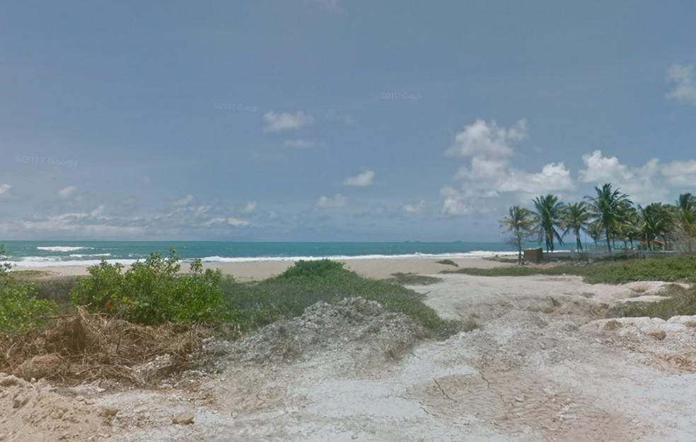 Praia de Enseada dos Corais fica no Cabo de Santo Agostinho, no Grande Recife (Foto: Reprodução/Google Street View)