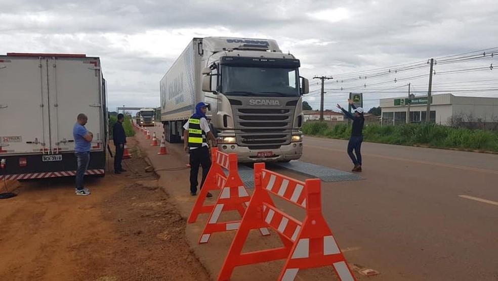 Fiscalizações em ambas as rodovias vai ocorrer em locais e horários imprevisíveis para surpreender condutores  — Foto: Dnit/Divulgação