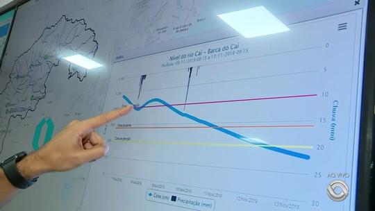 Serviço Geológico do Brasil inaugura sala de monitoramento de rios do RS