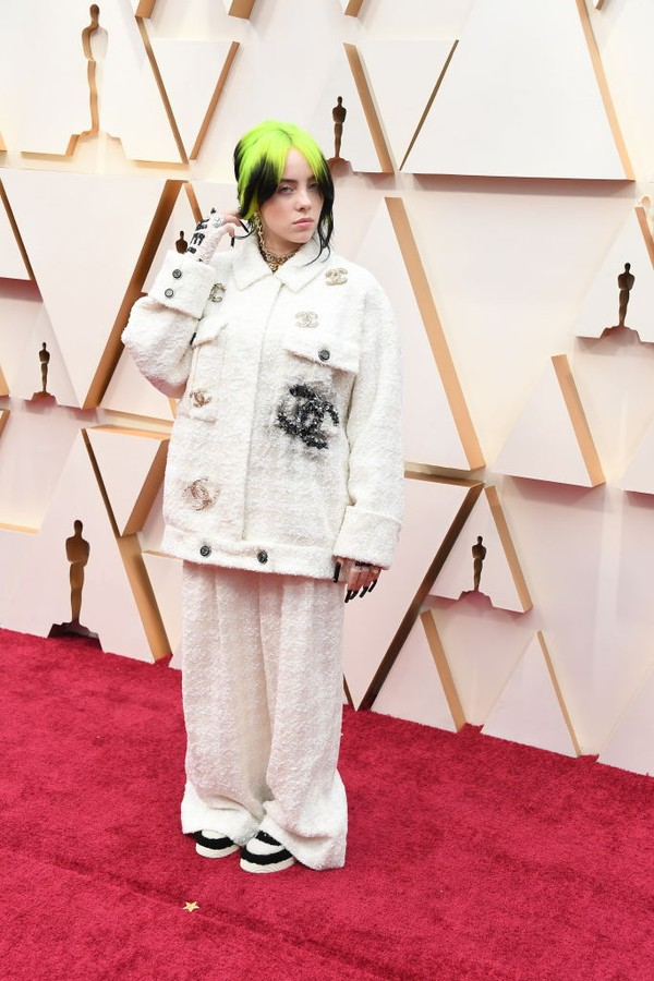 HOLLYWOOD, CALIFORNIA - FEBRUARY 09: Billie Eilish attends the 92nd Annual Academy Awards at Hollywood and Highland on February 09, 2020 in Hollywood, California. (Photo by Steve Granitz/WireImage) (Foto: WireImage)