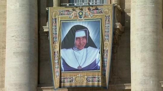 Irmã Dulce é canonizada e se torna a 1ª santa brasileira