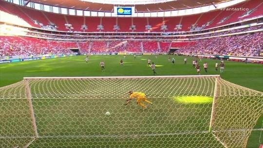 Veja os gols deste domingo pelo Campeonato Brasileiro