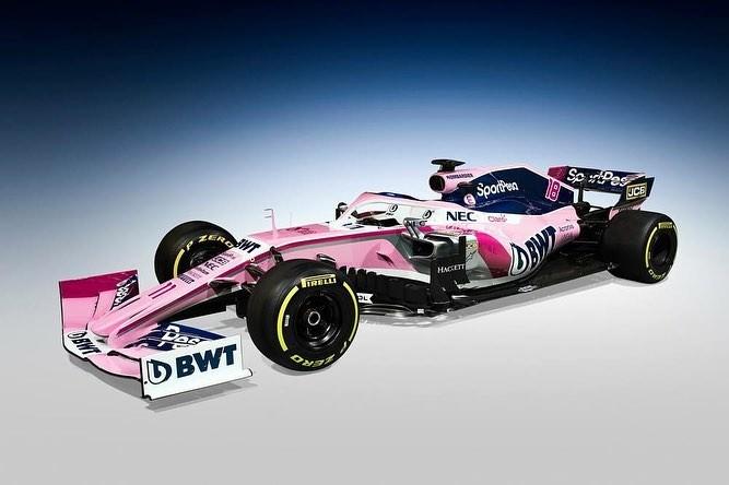 Racing Point RP19 (Foto: Reprodução: Instagram)