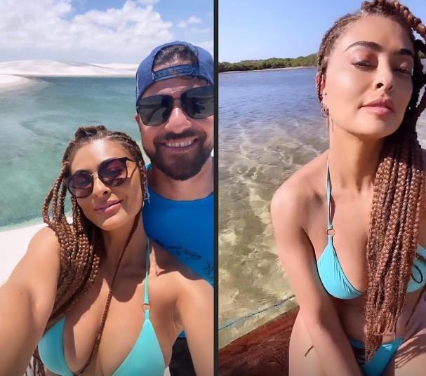Juliana Paes e o marido (Foto: Instagram/Reprodução)