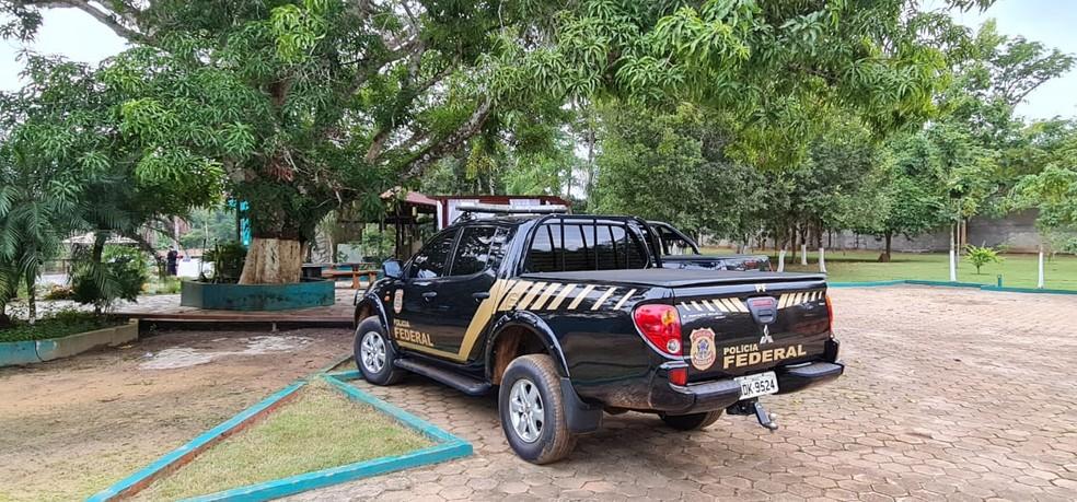 Operação Sniper: mandados de busca e prisão são cumpridos em Porto Velho — Foto: PF/Divulgação