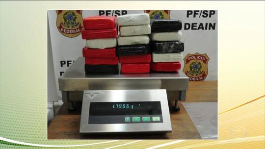 PF faz operação contra tráfico internacional de drogas em SP e MS