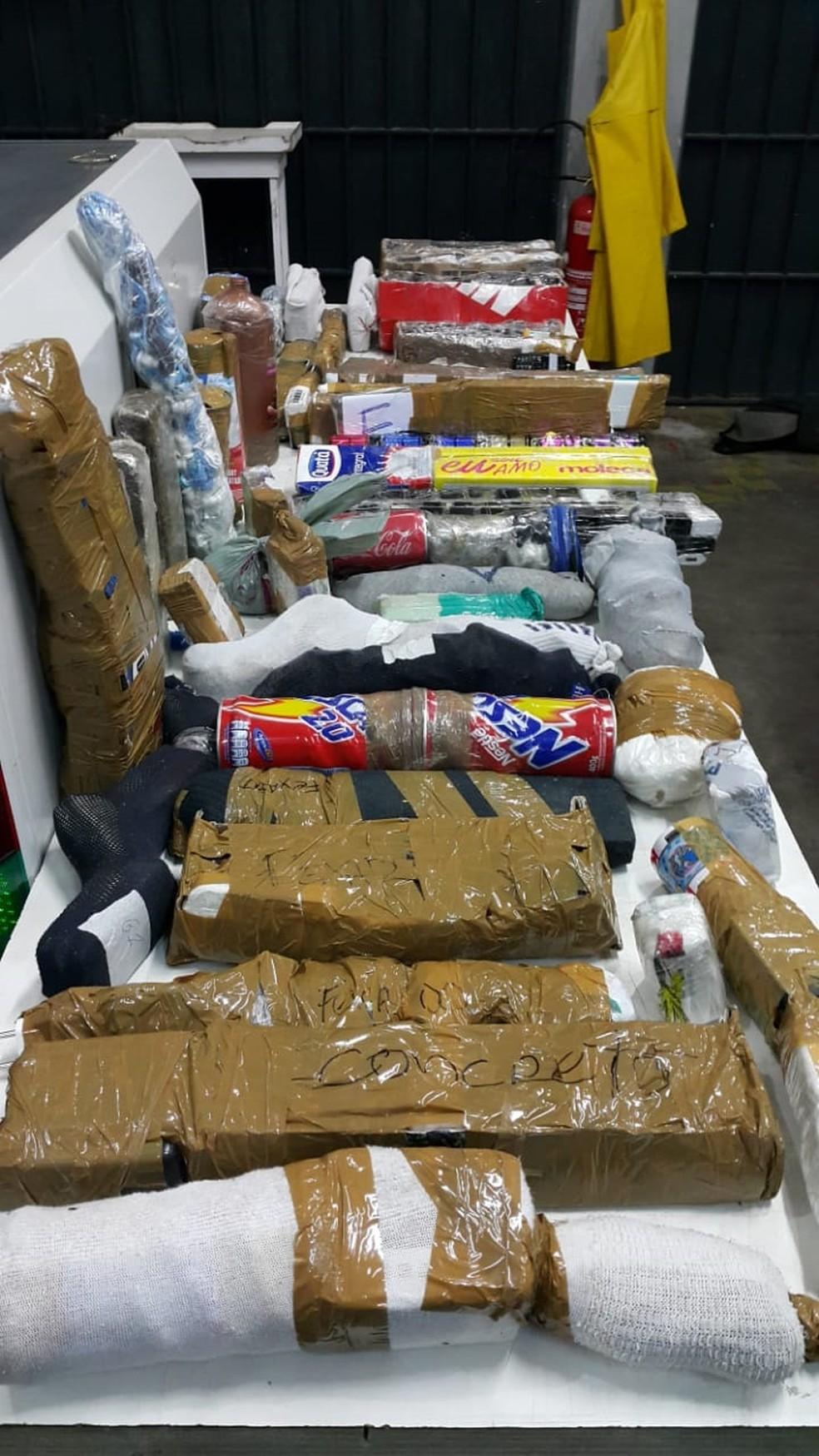 Drogas foram apreendidas em presídio em Tremembé (Foto: Arquivo Pessoal)