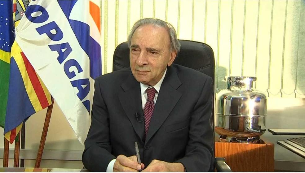 Ueze Zahran fundou a Copagaz, que 60 anos depois se tornaria a 5° maior distribuidora de gás GLP do país. — Foto: TV Morena/Reprodução