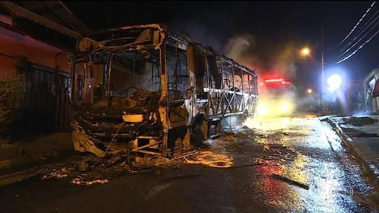 Nº de ônibus incendiados em 2017 já é maior do que todo o ano passado
