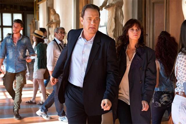 Tom Hanks e Felicity Jones em cena de 'Inferno' (Foto: Divulgação)