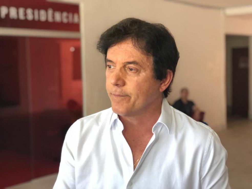 Governador do RN, Robinson Faria (PSD) ficou fora do segundo turno das eleições 2018 no RN  — Foto: Kleber Teixeira/Inter TV Cabugi