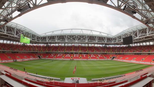 Estádio do Spartak, em Moscou, Rússia (Foto: LOC/FIFA)