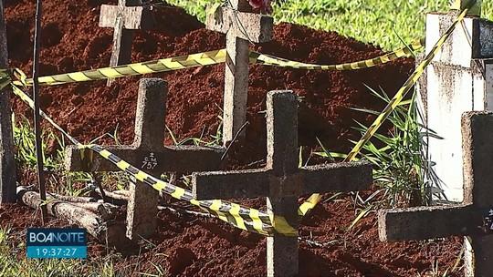 Bebê é enterrada sem a presença da família, em Ponta Grossa