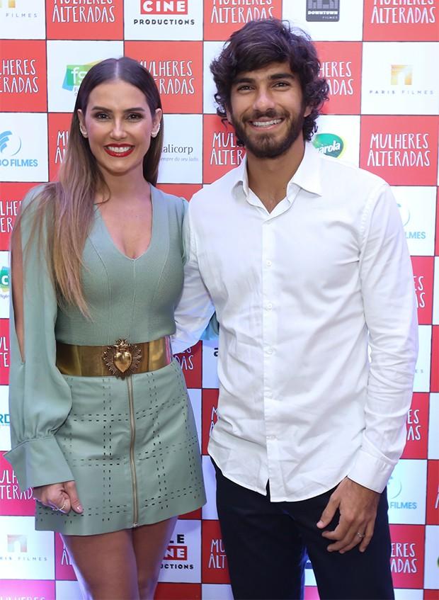 Deborah Secco e Hugo Moura (Foto: Roberto Filho/ BrazilNews)