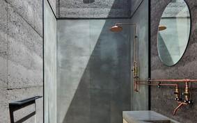 10 projetos que apostam no banheiro cinza