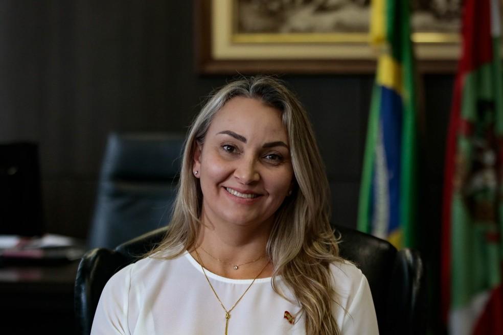 Daniela Reinehr — Foto: Mauricio Vieira/Secom/Divulgação