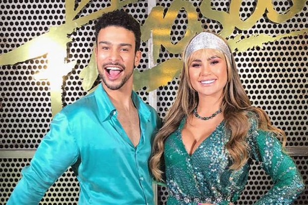 Sérgio Malheiros e Natacha Horana (Foto: Divulgação/TV Globo)