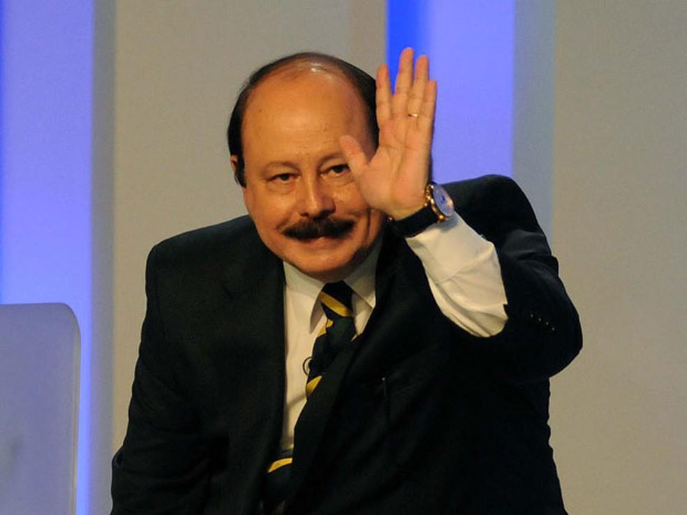 Candidato Levy Fidelix em imagem de 2014 — Foto: Alenxandre Durão / G1