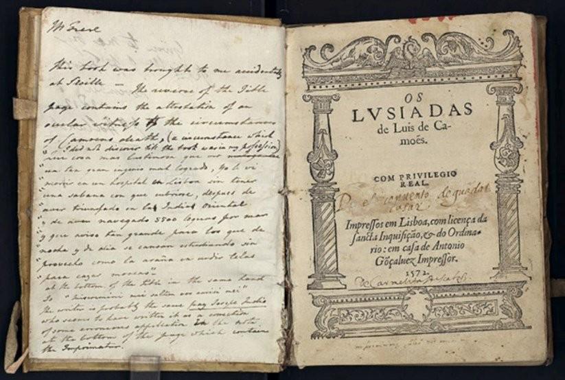 'Os Lusíadas', de Luís de Camões, clássico da língua portuguesa (Foto: Reprodução)