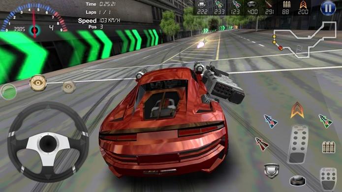 Armored Cars 2 tem ótimos gráficos e conta com modo multiplayer online e offline (Foto: Divulgação)