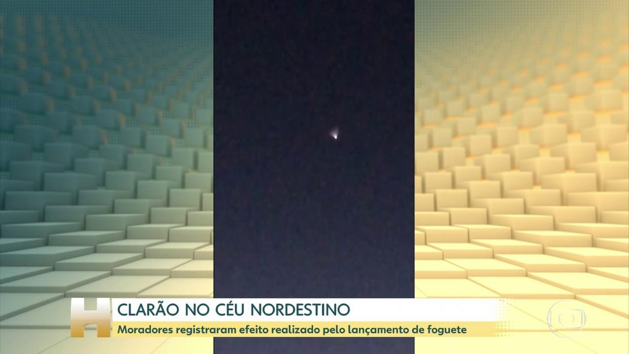 Moradores de cidades nordestinas registram clarão no céu