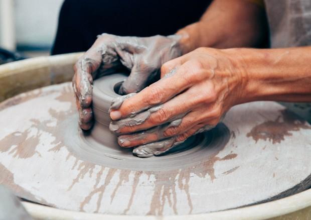 Owme levou convidadas para uma imersão em cerâmica (Foto: Alex Libotte/Divulgação)