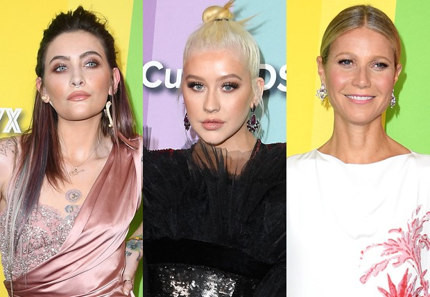 Paris Jackson, Christina Aguilera e Gwyneth Paltrow (Foto: Getty Images)