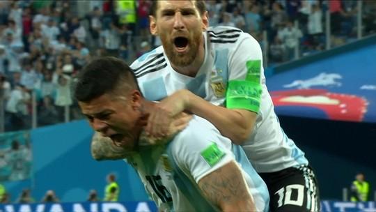 """""""Milagre mundial"""" e """"vida extra para Messi"""": jornais repercutem Argentina nas oitavas"""