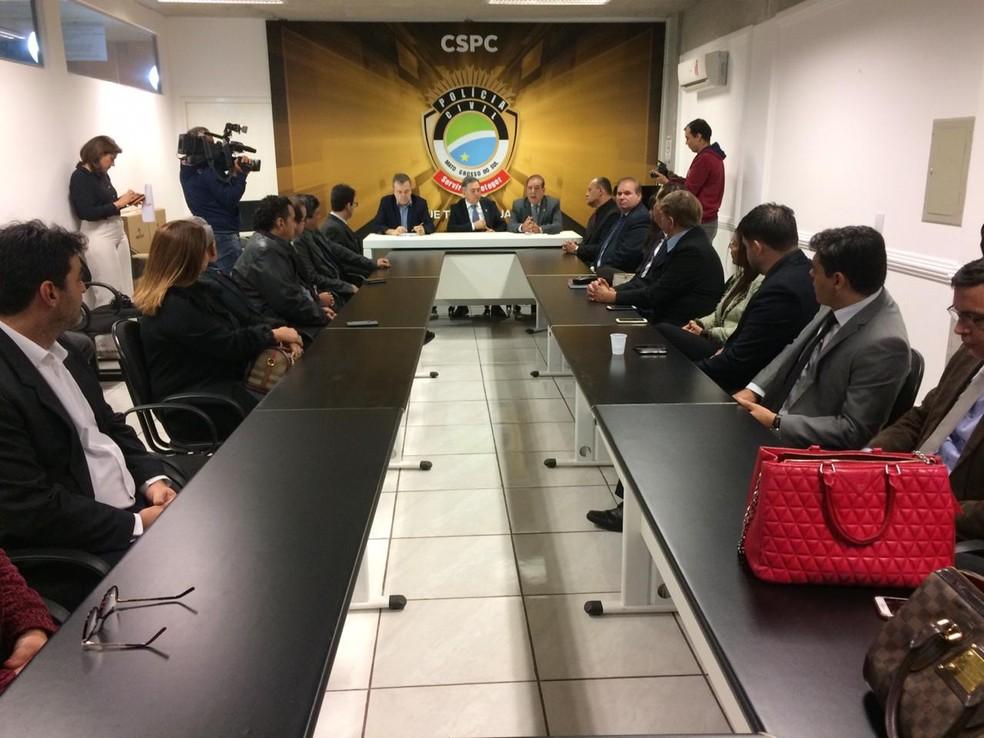 6e35bd84aa ... apresentou investimento Secretário estadual de Justiça e Segurança  Pública de MS,Antonio Carlos Videira, apresentou investimento