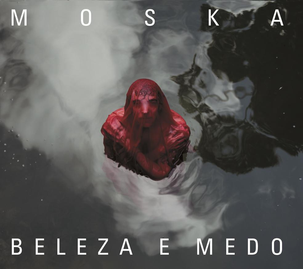 Capa do álbum 'Beleza e medo', de Moska (Foto: Flora Negri)