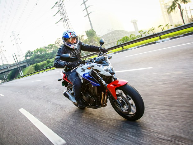 Honda CB 500F 2016 (Foto: Divulgação)