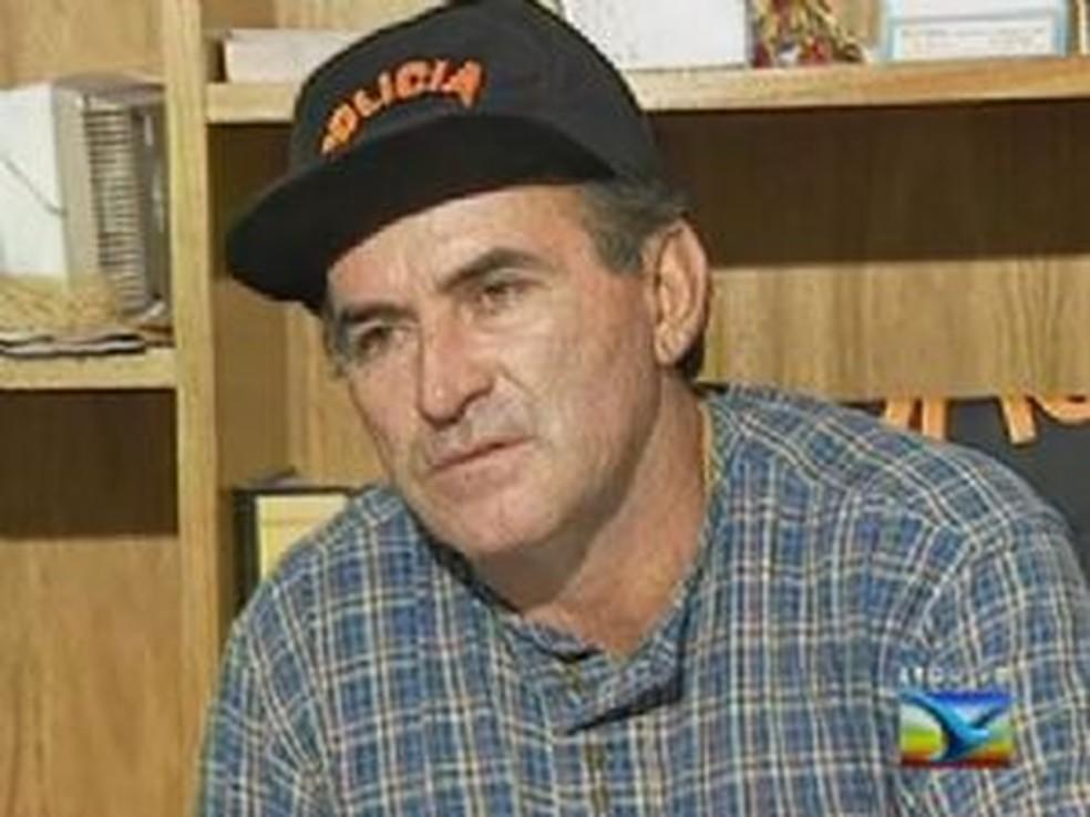 -  Delegado Stênio Mendonça foi assassinado em 1997  Foto: Reprodução/TV Mirante