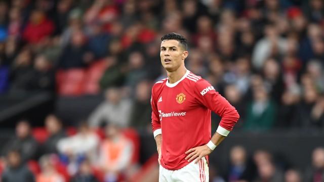 Cristiano Ronaldo foi a campo aos 11 do segundo tempo