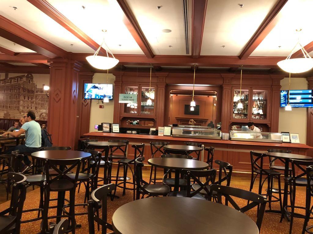 Cafeteria da HBS, The Grille (Foto: Arquivo pessoal)