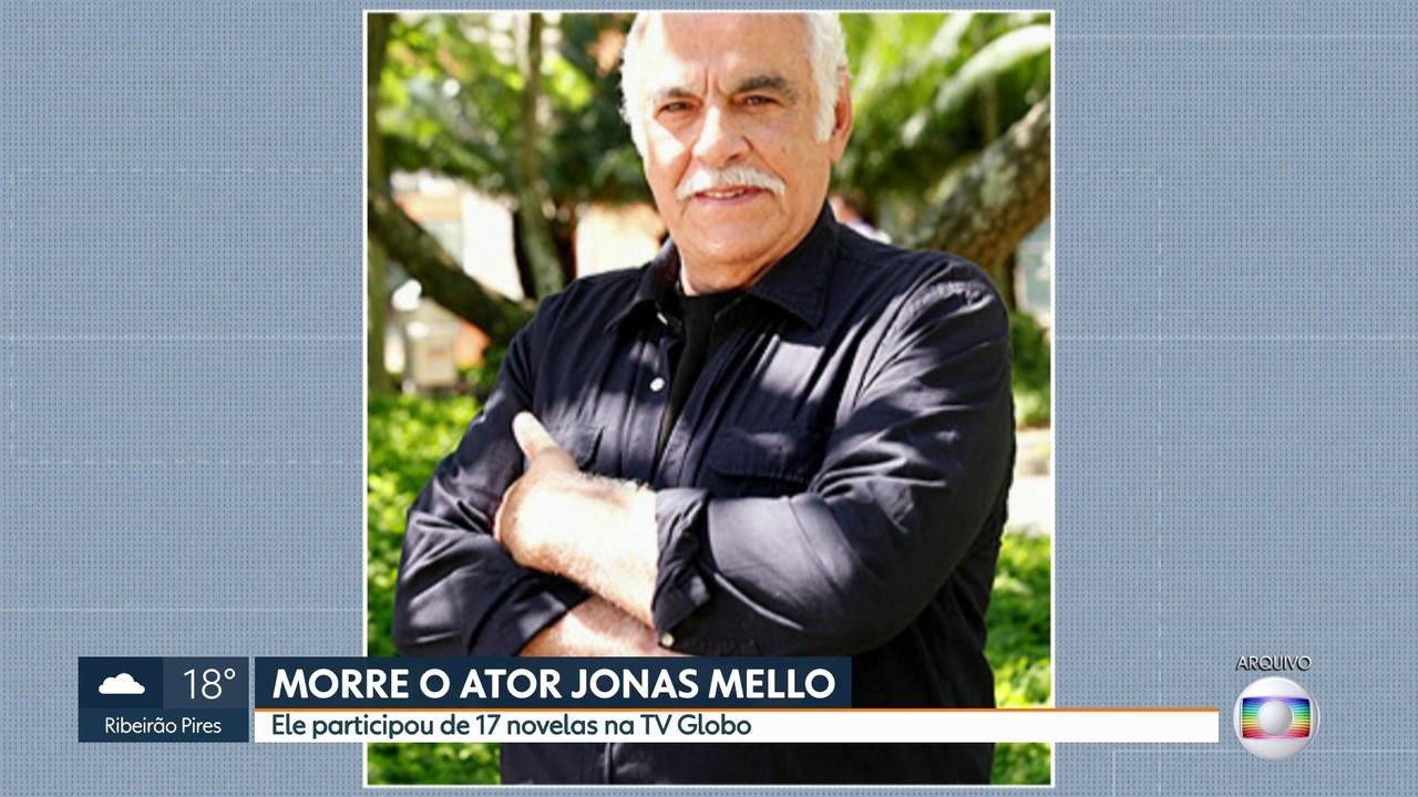 Morre o ator Jonas Mello