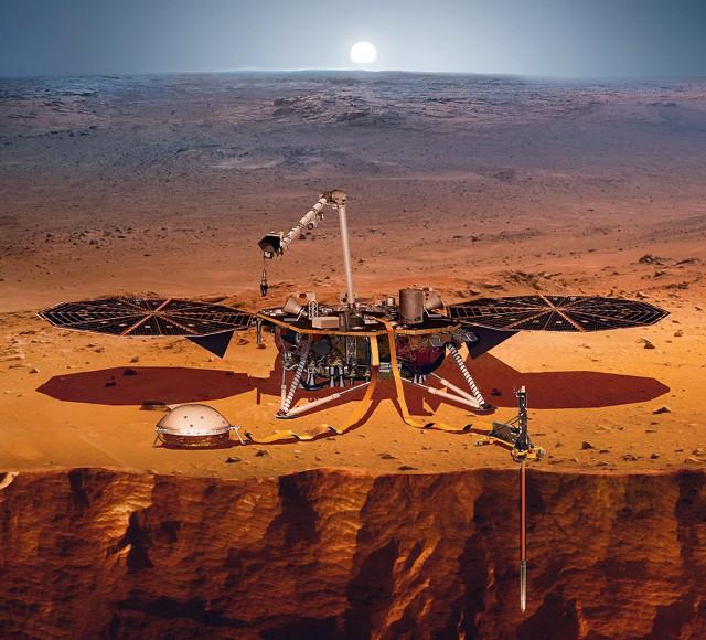 A missão InSight chegou a Marte em novembro de 2018. A próxima é a Mars 2020 (Foto: Nasa)