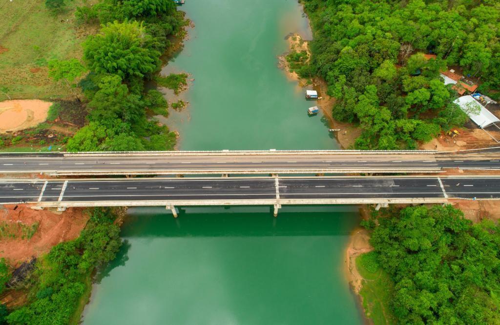 Ministro da Infraestrutura participa de inauguração da duplicação da BR-050 e de ponte em Araguari, na divida com Goiás