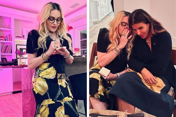 Madonna curte noite de jogos com os amigos (Foto: Reprodução/Instagram)