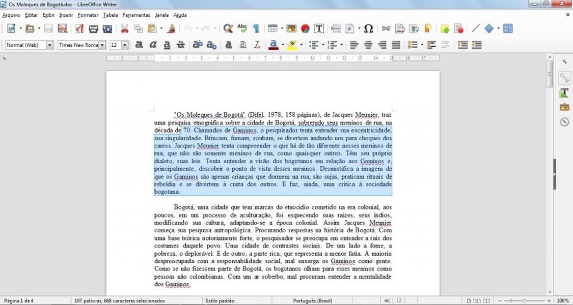 LibreOffice | Download | TechTudo