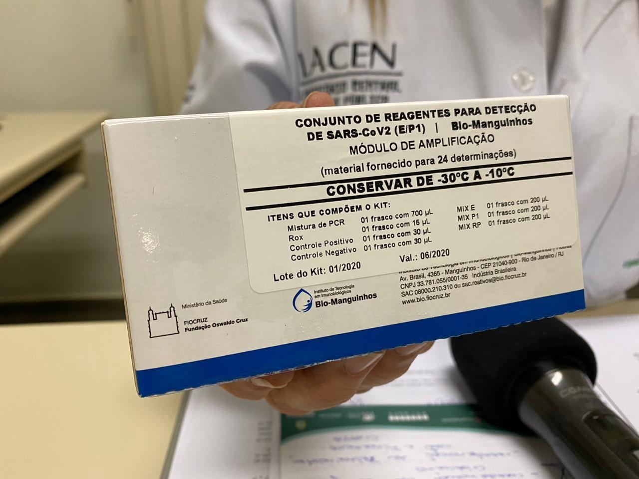 Amazonas aguarda resultado de mais de mil testes para casos suspeitos de coronavírus