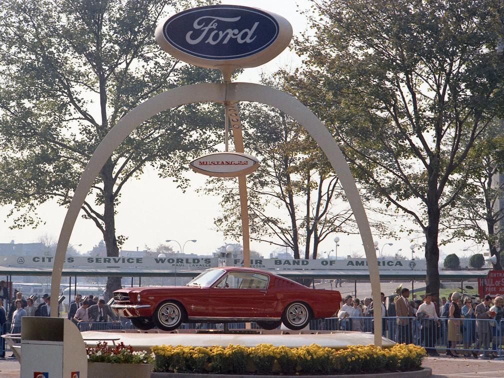 Primeiro Mustang foi apresentado em 1964 (Foto: Ford/Divulgação)