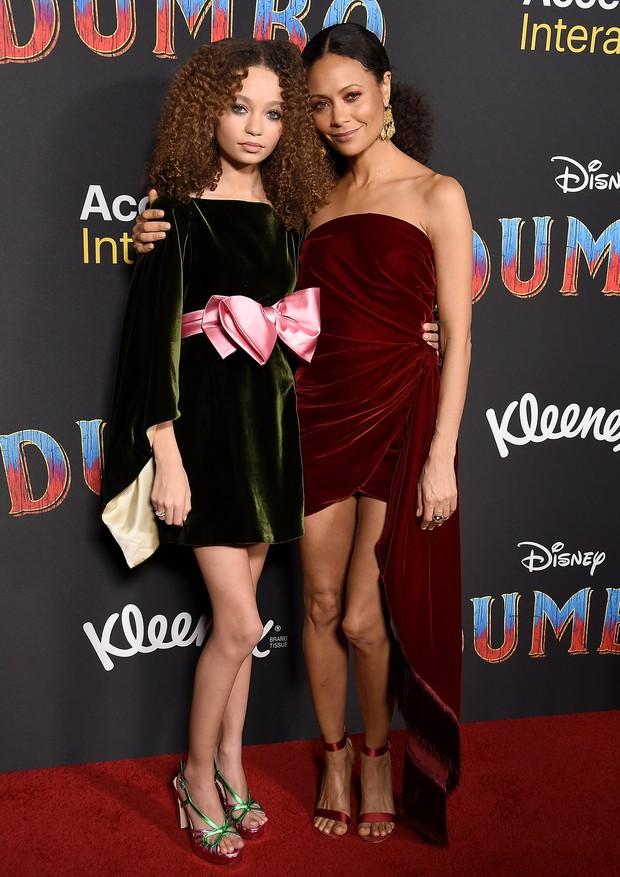Nico e Thandie (Foto: Getty Images)