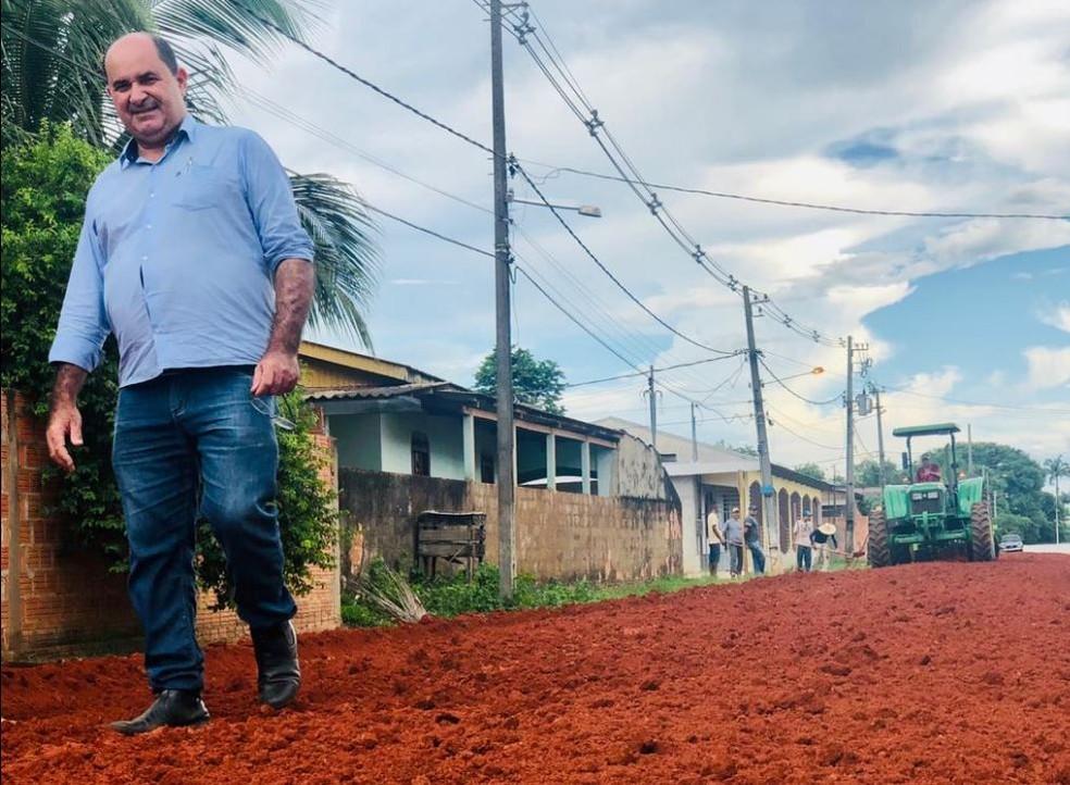 Gedeon foi prefeito de Plácido de Castro entre 2017 e 2020 — Foto: Arquivo pessoal