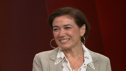 Vitória é uma espécie de adolescente madura, afirma a atriz Lilia Cabral