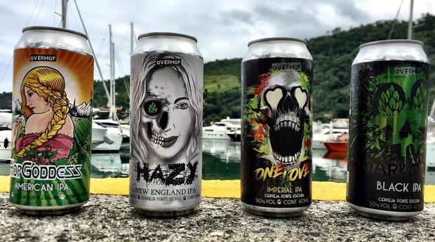 cervejas artesanais, overhop (Foto: Divulgação)