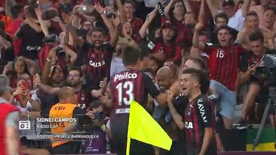 Redação AM: Sidnei Campos, da Rádio CAP, narra o título do Atlético-PR