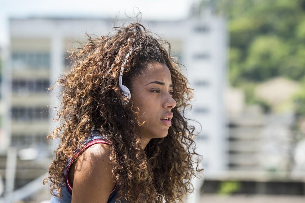 """Yara Charry em cena de Jade em """"Malhação: Vidas Brasileiras"""" — Foto: Globo/João Cotta"""