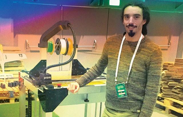 O engenheiro Nuno Oliveira criou a Xpim, de impressões em 3D (Foto: Divulgação)
