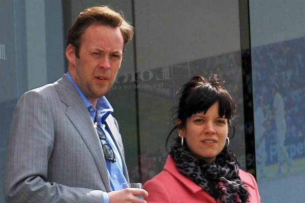 A cantora Lily Allen com o ex-marido, o empresário Sam Cooper (Foto: Getty Images)